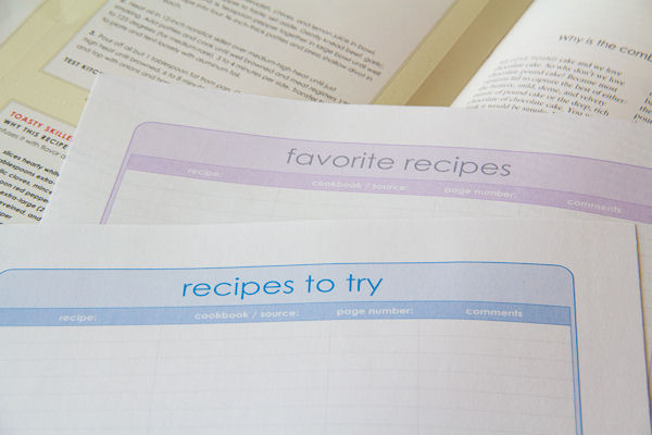 Recipes galore? How I keep them organized