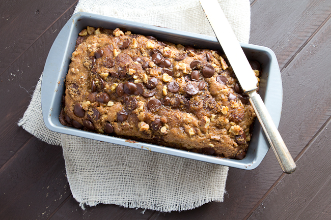 Cook at Heart Banana Bread with Chocolate Chip Streusel - a Cook at ...