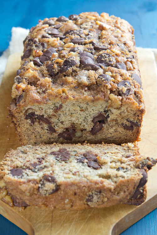 banana chocolate chip bread3