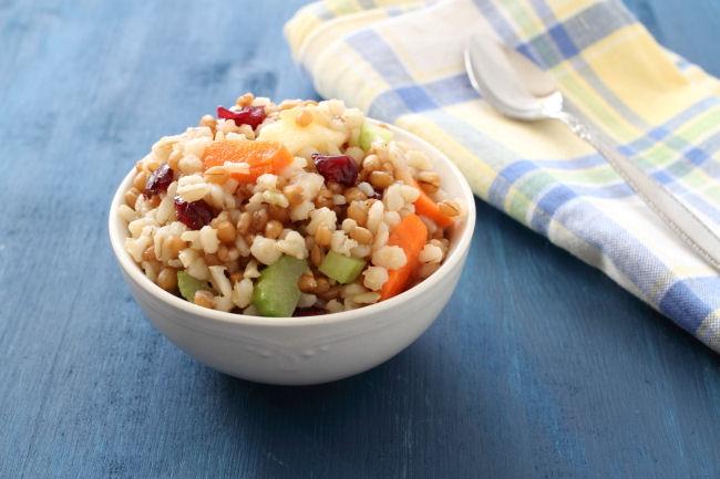 Fruity Three Grain Salad