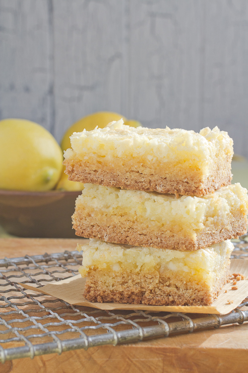 Cook at Heart Lemon Chess Squares - a Cook at Heart