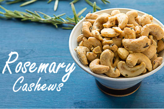 Rosemary Cashews – Addictively Good