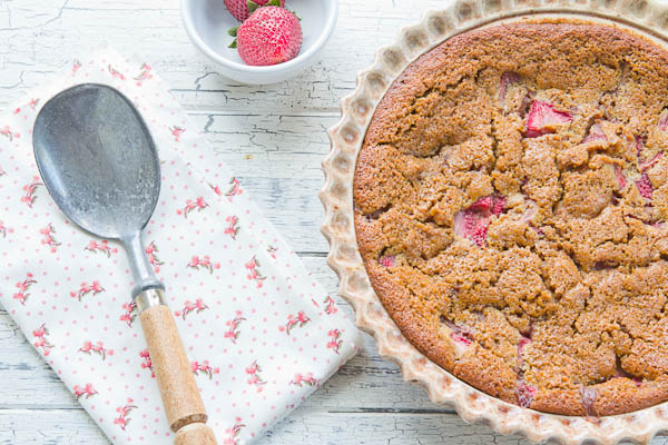whole wheat strawberry cobbler 3