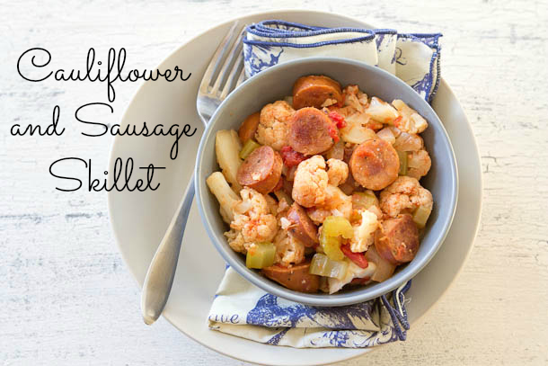 Cauliflower and Sausage Skillet 3