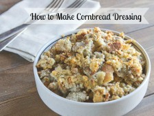 How to Make Cornbread Dressing