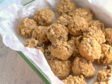 Banana Oatmeal Muffins + Vacation Pics